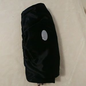 Black Satin Cluch or Evening Bag
